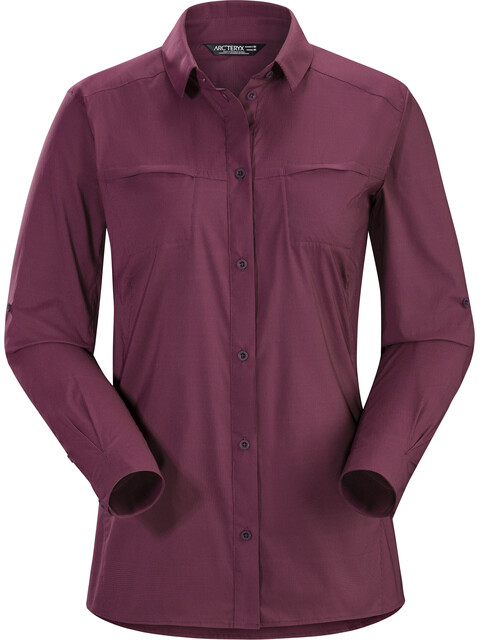 Arc'teryx Fernie LS Shirt Women Purple Reign